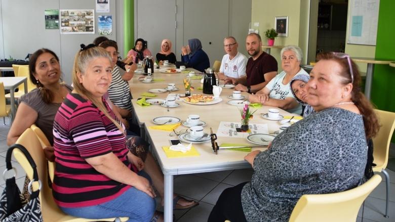 Offenes Café eine Woche später: Stadt Ahlen