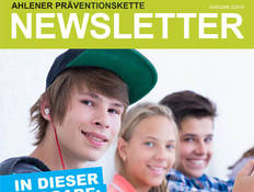 Grafik: Newsletter Ahlener Präventionskette 2/2018