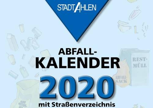 Müllabfuhr 2020 Ahlen