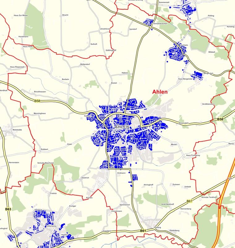 Unitymedia Verfügbarkeit Karte.Beste Voraussetzungen Für Superschnelles Internet Stadt Ahlen