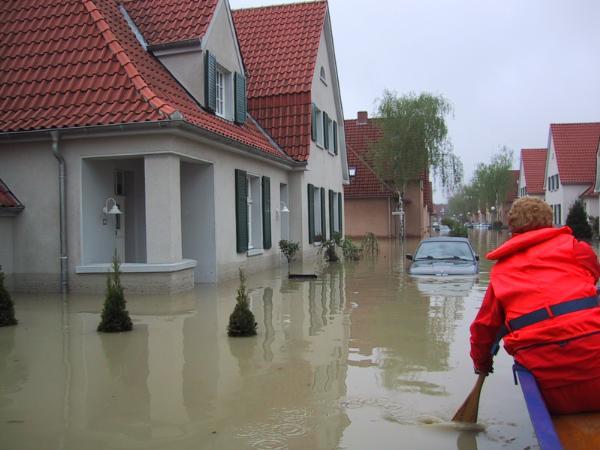03. Mai 2001: Hochwasser in Ahlen: Stadt Ahlen