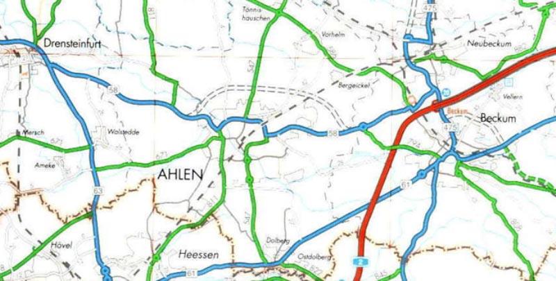Etappenziel erreicht auf dem Weg zur Nordtangente: Stadt Ahlen